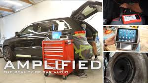 jeep grand sound system jeep grand stereo system part 5 soundman amplified