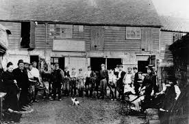 ibbett family and workers at ibbetts yard in south street st