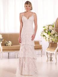 wedding dress jakarta murah essense of australia d2068 corded lace sheath bridal dress