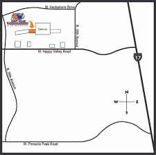 Surprise Arizona Map by Wvpd Locations Contact Us