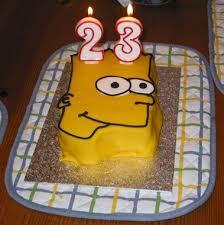 bart simpson cake u2013 penn u0027s station