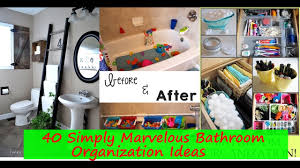 Bathroom Organizers Ideas by 40 Simply Marvelous Bathroom Organization Ideas To Get Rid Of All