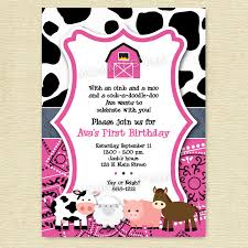 picturesque 1st birthday party invitations free download birthday