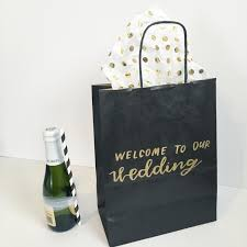 wedding hotel gift bags welcome to our wedding favor bag detroit wedding hotel gift bag