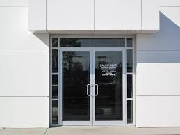 commercial glass sliding doors modern style business glass front door with commercial exterior