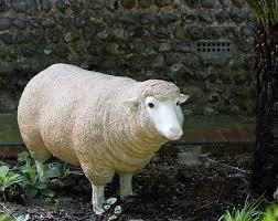 free photo sheep ornament large garden free image on pixabay