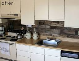 modern backsplash for kitchen kitchens with rustic themed backsplash my home design journey
