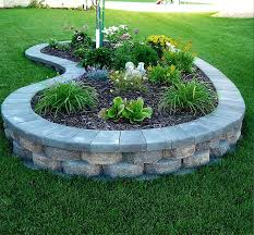 Flower Bed Plan - 25 best landscape borders ideas on pinterest flower bed borders
