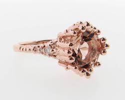 gold wedding ring sets morganite gold wedding ring set princess ring wexford jewelers