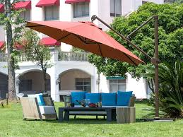 Coolaroo Umbrella Review by Amazon Com Abba Patio Offset Patio Umbrella 11 Feet Hanging