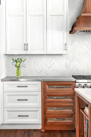 brown kitchen cabinets to white ba631613 marble