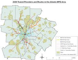 Marta Train Map A Well Tied Knot Atlanta U0027s Mobility Crisis And The 2012 T Splost