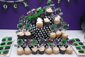 monster truck jam party supplies pirates u0026 princesses brock u0027s monster truck 4th birthday party