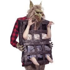 Werewolf Costume Caged Man Werewolf Costume