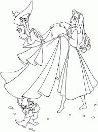 sleeping beauty coloring pages kids coloring