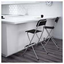 Ilea Chairs Franklin Bar Stool With Backrest Foldable 24 3 4