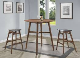 mid century modern round bar table set bistro and bar table sets