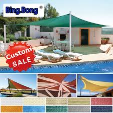 Sail Cloth Awnings Sun Shade Sail Custom Hdpe Shade Cloth Sun Shading Net Outdoor