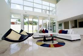 white leather sofa designs for the modern living room