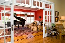 InteriorslidingfrenchdoorsDiningRoomTraditionalwithdivide - Dining room with french doors