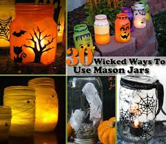 How To Use Mason Jars For Decorating Top 30 Diy Spooky Mason Jars For This Halloween Amazing Diy