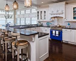 shaped kitchen island made of cedar tree designs pinterest harvey cedars beach style kitchen new york by serenity design