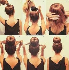 bun scrunchie scrunchie bun thing hairstyles easy bun