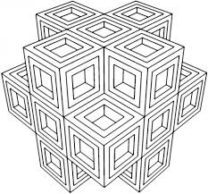 20 free printable geometric coloring pages everfreecoloring com