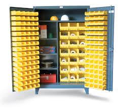 garage shelving with doors shelves marvelous bin storage cabinet with half width shelves