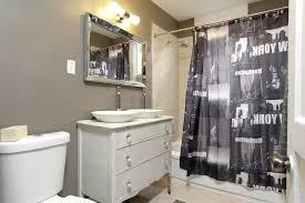 Novelty Shower Curtains Toronto Corner Sink Vanity Bathroom Eclectic With Rainshower Head