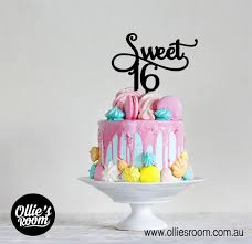 sweet 16 cake topper 40 years of fabulous birthday cake topper acrylic or bamboo