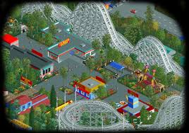 Six Flags New England Map by Sunset Vista Rct2 A Brand New Sunset Park Theme Park Review