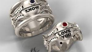 nerdy wedding rings spinoff time post your favorite nerdy wedding rings