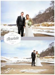 wedding photographers in michigan winter wedding elopement west michigan wedding
