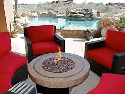 Red Patio Set by Patio 65 Costco Outdoor Patio Furniture Costco Patio Swing