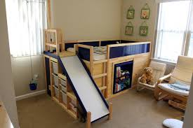 kids bed with slide in indoor slide designs ipicdg with related