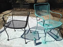 Refinishing Wrought Iron Patio Furniture by I U0027m No Longer A Pinterest Virgin U2013 How To Refinish Old Metal Patio