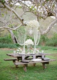 wonderful diy outdoor wedding decorations 21 diy outdoor amp