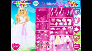 barbie beautiful bride bridal game youtube