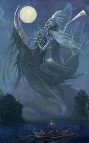 haliya bikolano masked goddess of the moonlight moon in