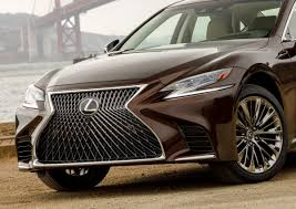 lexus paper sedan 2018 lexus ls500 on sale in february 2018 starting around 75 000