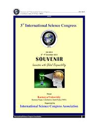 3rd international science congress