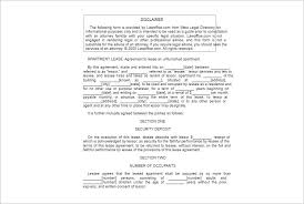 lease agreement template free word pdf documents creative