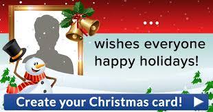 create your christmas card