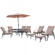 Jtf Outdoor Christmas Decorations by Barcelona 11 Piece Garden Furniture Set Jtf