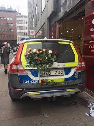 volvo sweden website police car in stockholm sweden the day after the stockholm attack