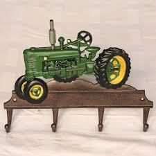 kinderzimmer garderobe garderobe hakenleiste traktor bulldog gusseisen kleiderhaken