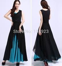 stylish dress fashion chiffon dress stylish clothing summer sweep dress