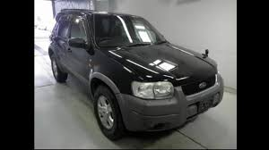 Ford Escape Used Cars - used car ford escape for sale from japan stc japan youtube