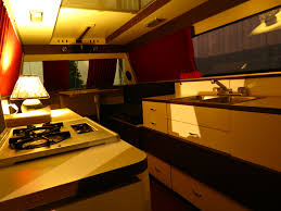 motor home interiors newmar rv factory wakarusa dime store and rv motorhome hall of
